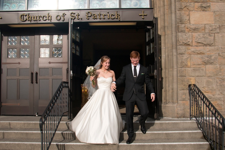 Church of St. Patrick Wedding